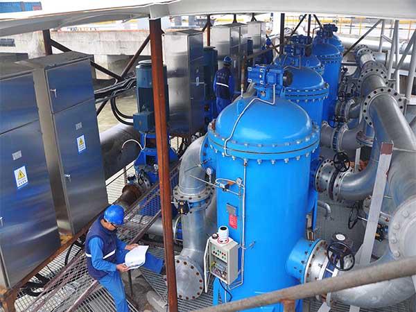 年产800000铁厂-自清洗过滤器的应用
