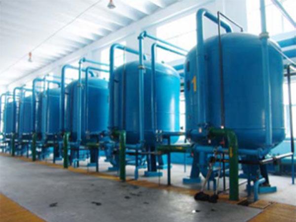 机械加工行业-多介质过滤器的应用